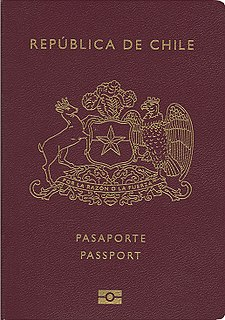 Chilean passport passport