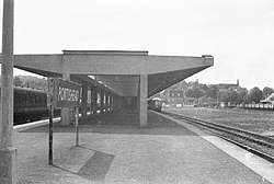 Portishead railway station in 1960.jpg