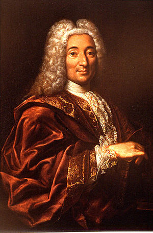 Pierre Fauchard - Portrait of Fauchard by J. Le. Bel