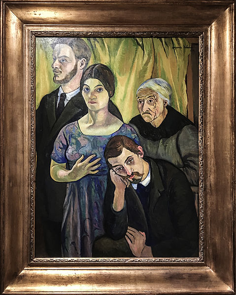 Fichier:Portrait de famille, 1912 - Suzanne Valadon.jpg