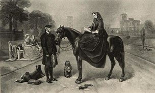 Queen Victoria and John Brown at Osborne House