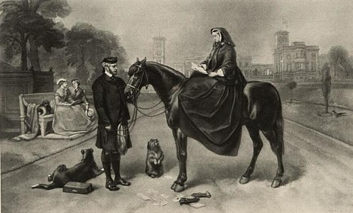 Portrait of Queen Victoria and John Brown at Osborne House (4674627).jpg