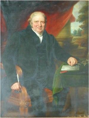 William Winterbotham - Portrait of Rev. William Winterbotham, made by John Ponsford of Devon, Summer 1828.