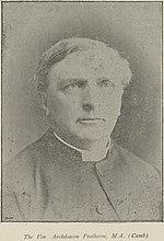 Ven Archdeacon Protheroe, M.A. (Camb)