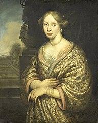 Maria van der Burght, eerste echtgenote van François Leidecker