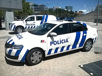 Polícia de Segurança Pública - Image: Portuguese Public Security Police vehicles with 2014 livery
