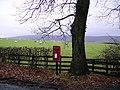 Post Box Over Wyresdale - geograph.org.uk - 98068.jpg