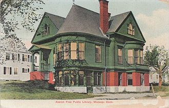Plainfield, Connecticut - Moosup Free Public Library, about 1908