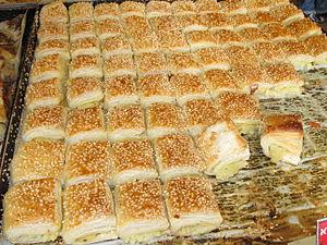 Israeli cuisine - Potato bourekas