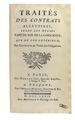 Pothier - Traités des contrats aléatoires, 1767 - 325.tif