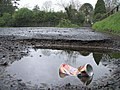 Pothole at Retreat Avenue, Omagh - geograph.org.uk - 410475.jpg