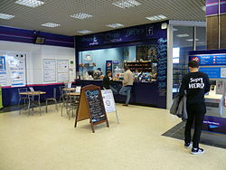 Potters Bar railway station cafe.JPG