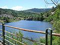 Prévenchères, lac de Rachas, lac de barrage du Chassezac.JPG