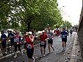 Pražský maraton, Nábřežní, běžci.jpg