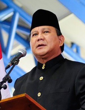 Indonesian legislative election, 2014 - Prabowo Subianto