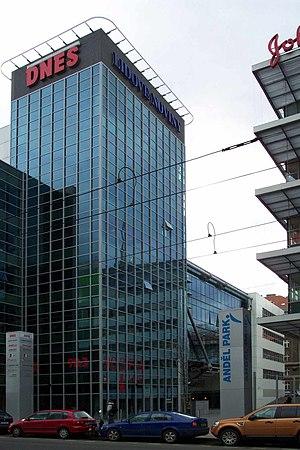 Lidové noviny - Headquarters of Lidové Noviny and Dnes in Prague