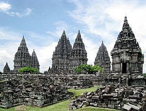 Cultural properties of Indonesia - The Prambanan complex is one of 8,232 immovable cultural properties in Indonesia