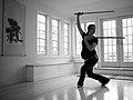 Pregnant warrior double sword 2 - Flickr - dizznbonn.jpg