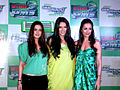 Preity, Malaika and Neha at 'Gillette PMS campaign' event 03.jpg