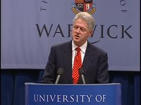 File:President Clinton's Remarks at the Univ. of Warwick (2000).webm
