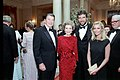 President Ronald Reagan and Nancy Reagan with Cheryl Ladd and Brian Russell.jpg