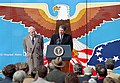 President Ronald Reagan and Warren Burger on the South Lawn.jpg