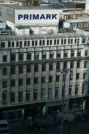 The former Lewis's building Manchester, Englan...