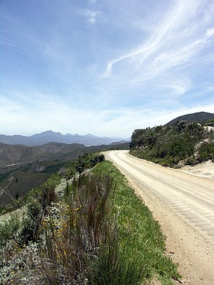 R339 road (South Africa) - Image: Prince Alfred Pass 002
