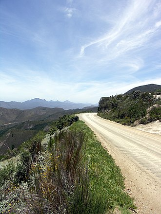 Alfred, Duke of Saxe-Coburg and Gotha - Prince Alfred Pass in the Western Cape, South Africa