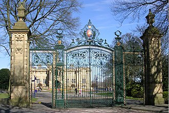 Lister Park - Image: Prince of Wales Gates Lister Park