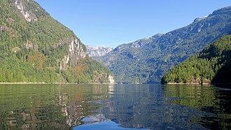 Princess Louisa Marine Provincial Park - Image: Princess Louisa Inlet 01