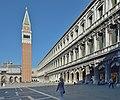 Procuratie nuove e Campanile di San Marco a Venezia.jpg