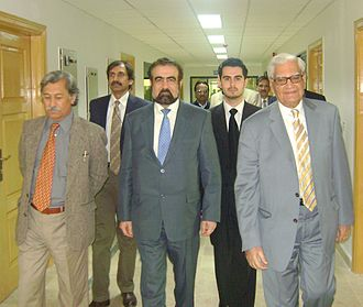Center for Earthquake Studies - Image: Prof. Dr. M.Qasim Jan