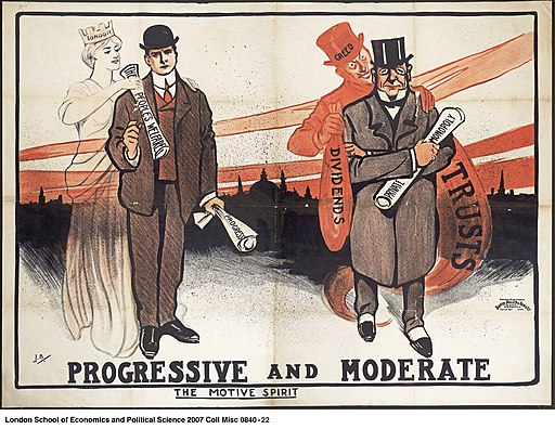 Progressive and Moderate - The Motive Spirit