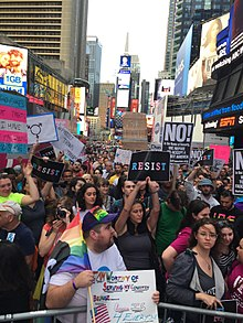 Protest of Donald Trump's ban on transgender military service (36032636742).jpg