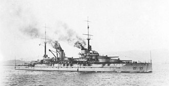 French battleship Provence - Provence in 1918