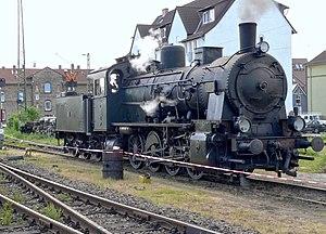 Prussian G 8 - Image: Prussian G8 lokomotive