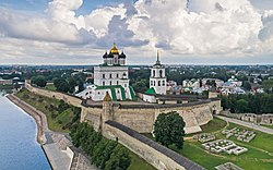 Skyline of Pskov Chiu