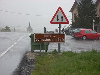 Somosierra (mountain pass) mountain pass in Spain