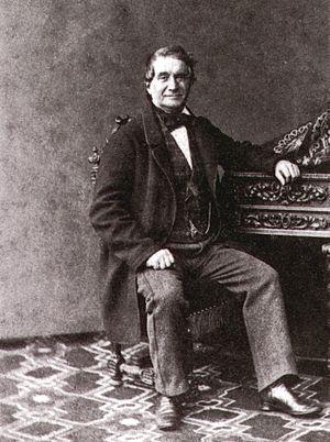 Cesare Pugni - Maestro Cesare Pugni. St. Petersburg, circa 1865