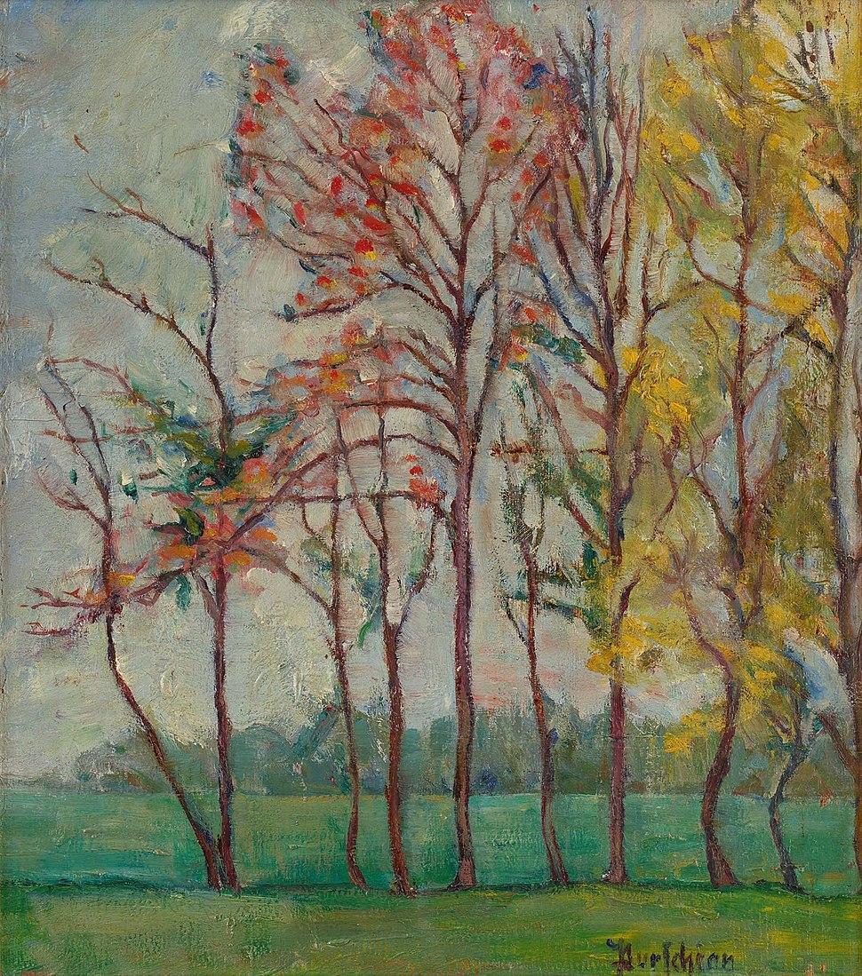 Purschian Herbstbäume
