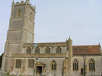 Church of St Barnabas, Queen Camel - Image: Qcamelchurch