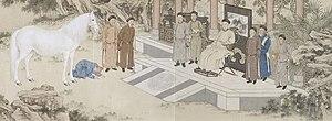 China–Kazakhstan relations - Image: Qianlong Horse