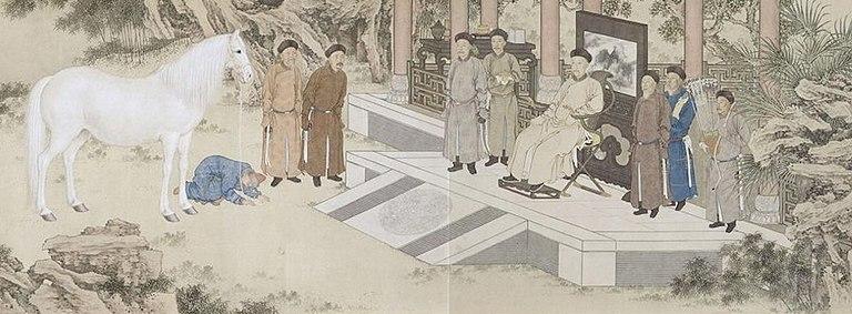 Qianlong Horse