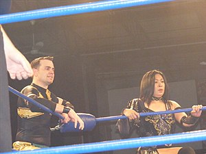 Mike Quackenbush - Quackenbush with Manami Toyota in April 2011