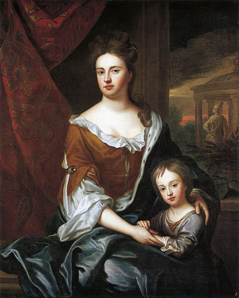 File:Queen Anne and William, Duke of Gloucester by studio of Sir Godfrey Kneller.jpg