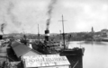 Queensland State Archives 60 Wharves and shipping South Brisbane Reach Brisbane River October 1930.png