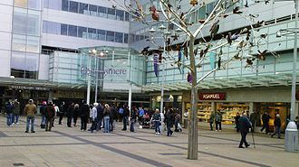 Slough - The redevelopment of the shopping centre in Slough as part of the Heart of Slough redevelopment programme.