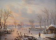 Régis François Gignoux, View Near Elizabethtown, N. J., 1847