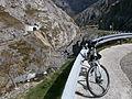 Río San Isidro y mi bici.JPG